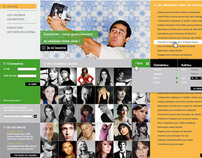 web design - casting.fr