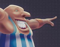 Character Design - OBEZO (Circus)