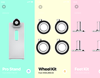 Concept: Apple Deluxe Accessories Shop App