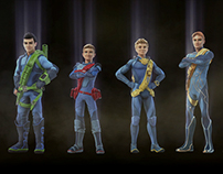 Thunderbirds Are Go Character Trailers