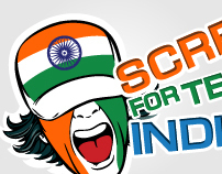 Scream for team India!