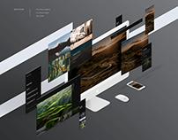 Portfolio website for operator/photographer
