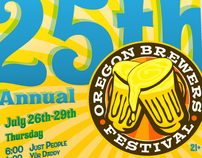 2012 Oregon Brewers Festival Poster