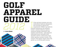 Golf Canada Apparel Guide