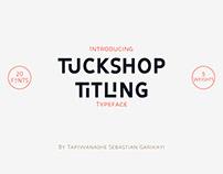 Tuckshop Titling Free Font