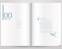 A4 Business Brochure Vol. 01