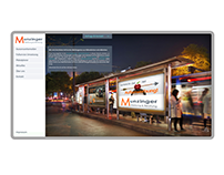 Werbeagentur Munzinger   website