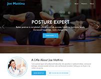 Joe Mattina- Chiropractic Website