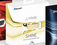 Bluetooth Headset Packaging Concept