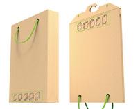 Paper bag hanger
