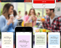 Restaurant App - UX & UI Design of the App