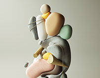 Exaggerated Sculptures