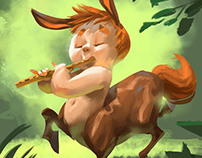 Centaur Character Design