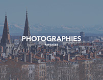 Photographies- Paysages