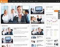 Financial III - Elegant Financial Joomla Template