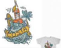 Costa Sunglasses Shirt Designs