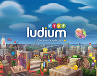 Ludium's Website Presentation Art and Demo Reel
