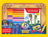 Faber-Castell Frame Tin Speed Colouring Video