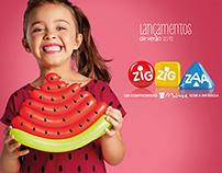 ZIG ZIG ZAA - Lançamentos de Verão 2012