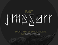 Jimgarr - pay what you want font.