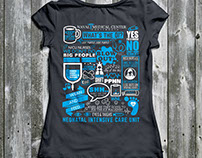Naval Medical Center - Shirt Design
