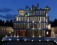 Проект частного дома. Киев.