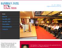 Website - Thesis Award