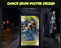 DANCE SHOW POSTER DESIGN