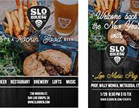 SLO Brew Advertisements