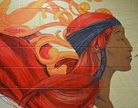 Hyatt Regency Mural