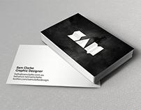 Personal Rebrand / Sam Clarke