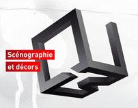 Logo des scénographe QUB