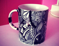 Illustrated cups