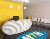 MTN Zambia: Head Office Branding