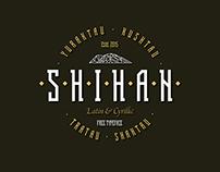 Shihan // Free font