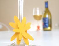 Paper Wine Charm