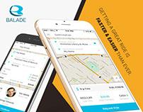 Balade - On Demand Taxi / Cab Booking App
