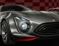 Design de automóveis esportivos