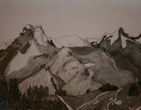 LANDSCAPE drawing 3