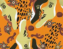 Tribal Seamless Pattern / Textile Print / Print Design