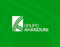 Diseño de marca Grupo Ahanduni