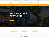 We Care About Your Cargo -UI Design