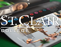 St. Clair College Print Design