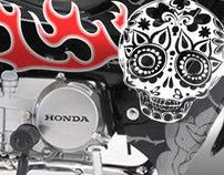 100 Colores bike branding