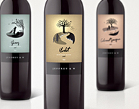 Jeffrey & W Wine Labels