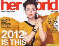 Her world Magazine -Januari 2012-