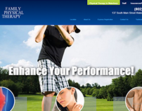 Family Physical Therapy - Web Design