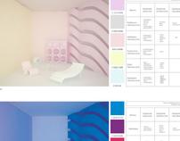 inconspicuous changes spatial relations through colour