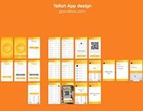 Yalloh App UI/UX design