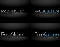 PRO KITCHEN MANUFACTURING CO.,LTD. LOGO DESIGN
